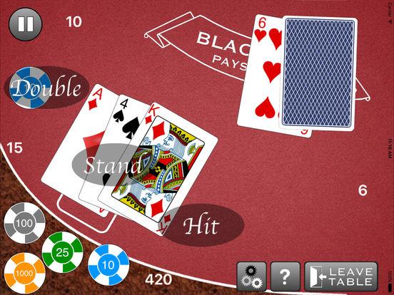 Blackjack - Free Casino Style Blackjack 21 Gambling Simulator screenshot