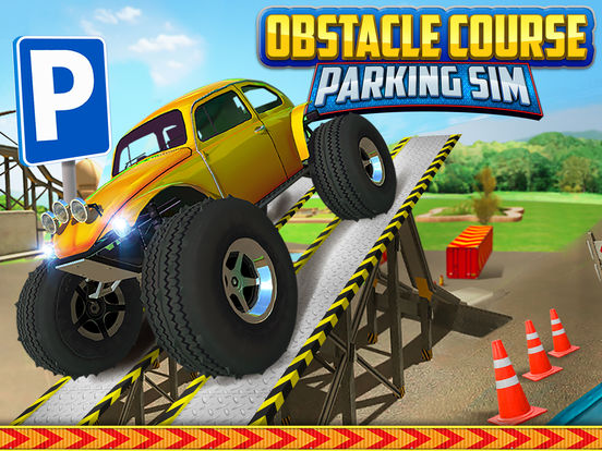 Obstacle Course Extreme Car Parking Simulator screenshot 6