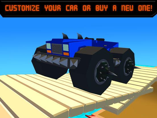 Pixel Car Fighting Arena 3D Full Screenshots