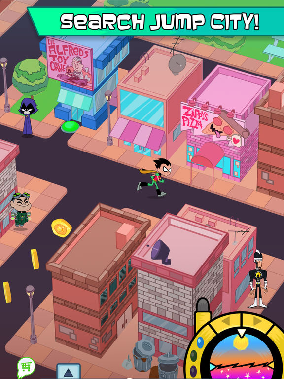 Teeny Titans - A Teen Titans Go! Figure Battling Game Screenshots