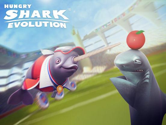 Screenshot #1 for Hungry Shark Evolution