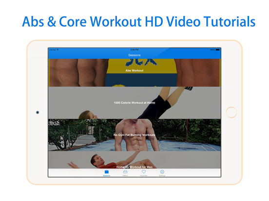 Abs Core Workout - Free Ab Fitness Plan For Weight Loss, Get Six Pack Challenge-ipad-0