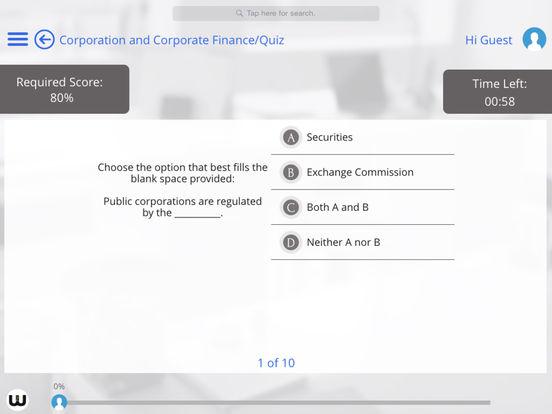 MBA for iPad iPad Screenshot 3