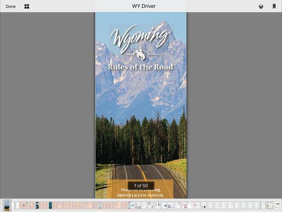 DMV Test Prep - Wyoming iPad Screenshot 5