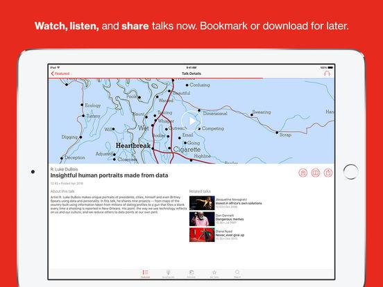 TED iPad Screenshot 2
