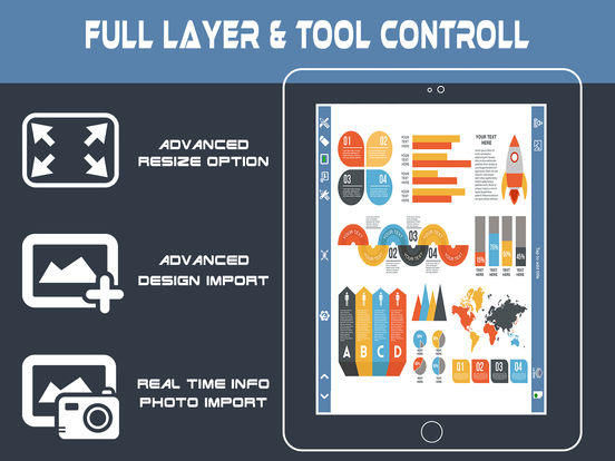 InfoGraphic and Poster Creator - Graphic Maker on the App Store