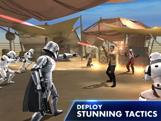 Screenshots of Star Wars™: Galaxy of Heroes for iPad