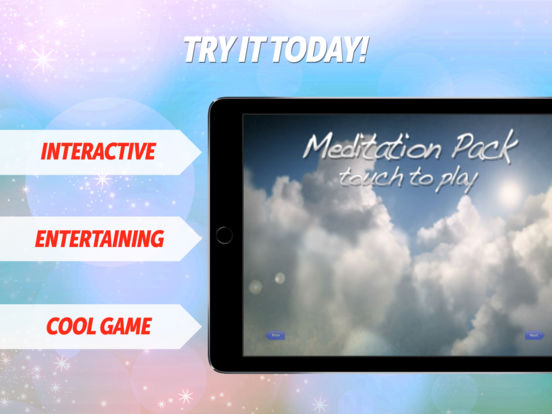 Meditation Scenes - Video Relax Pack iPad Screenshot 1