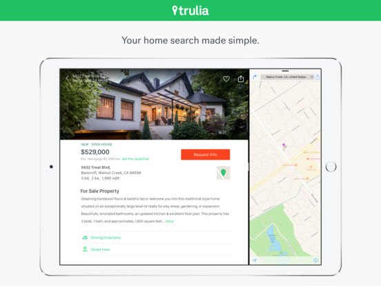 Real Estate by Trulia - Homes for Sale & Apartments for Rent screenshot