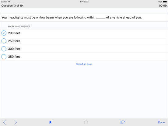 DMV Test Prep - New York iPad Screenshot 3