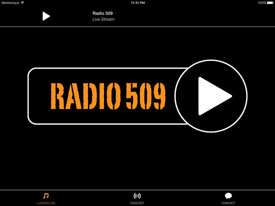 Radio509 iPad Screenshot 1