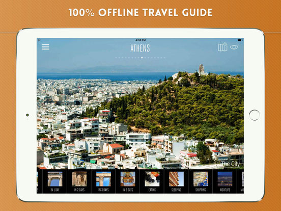 Athens Travel Guide iPad Screenshot 1