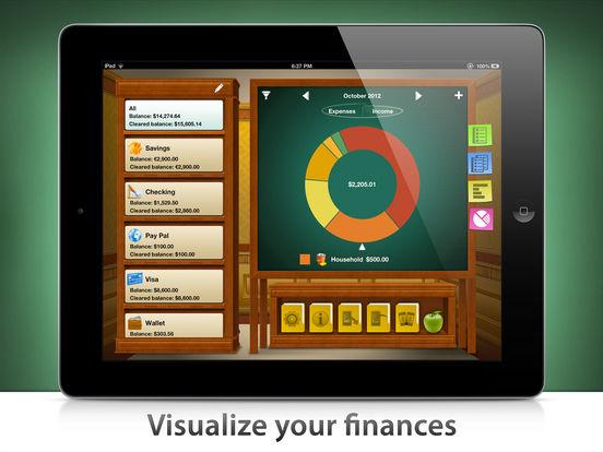 Checkbook HD iPad Screenshot 3
