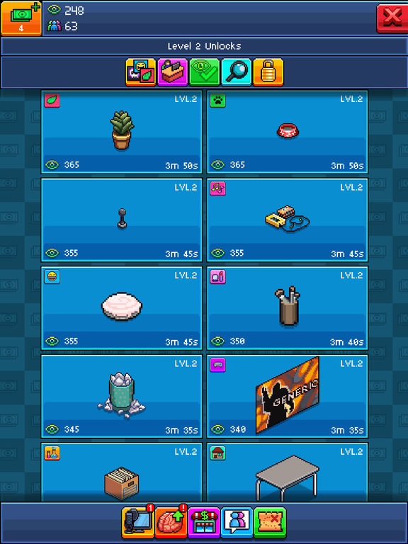 Screenshots of PewDiePie's Tuber Simulator for iPad