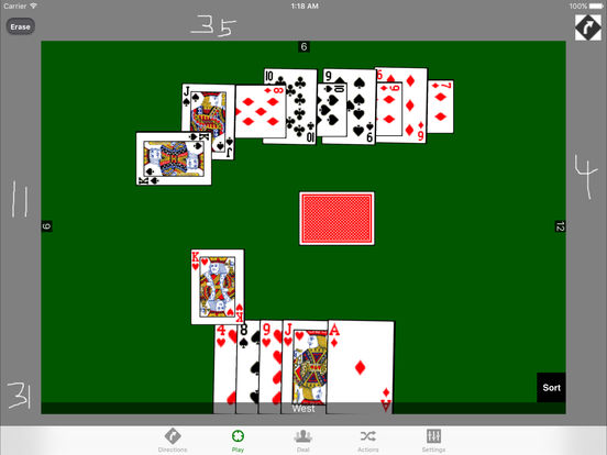 iPlayingCards (Lite) iPad Screenshot 1