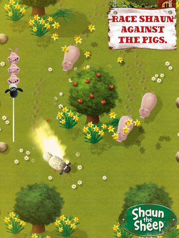 Shaun the Sheep - Fleece Lightning Screenshots