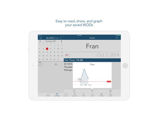 myWOD iPad Screenshot 3