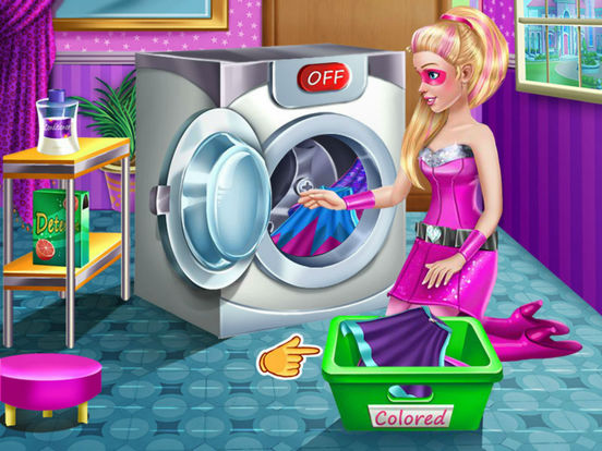 Super Princess Washing Capes-ipad-0