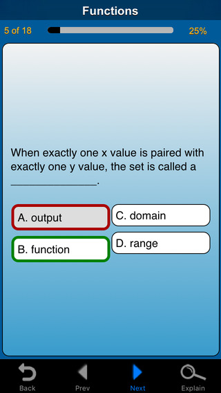 meStudying: Algebra I iPhone Screenshot 2