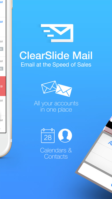 ClearSlide Mail screenshot