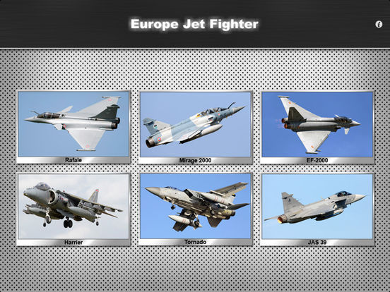 Europe Jet Fighter iPad Screenshot 1
