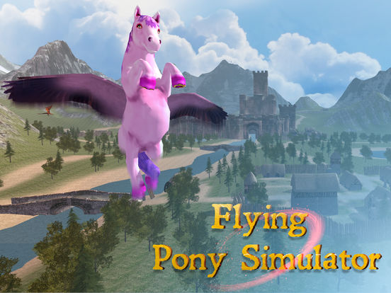 Flying Pony: Small Horse Simulator 3D Full Screenshots