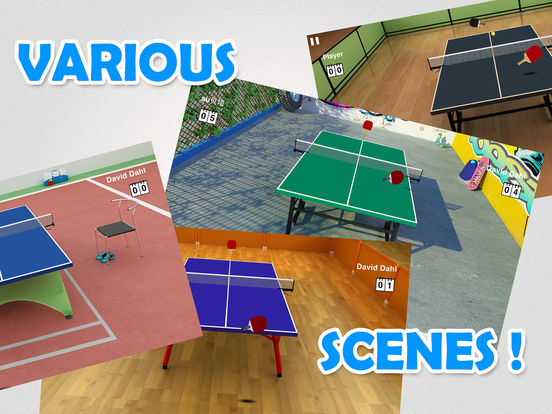 Screenshot #3 for Virtual Table Tennis HD