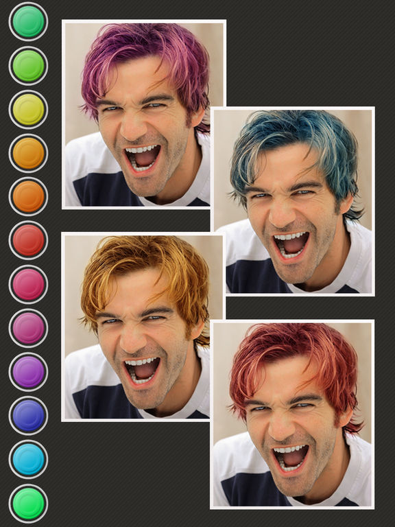Hair Color Booth Free screenshot 8