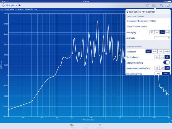SignalScope iPad Screenshot 3