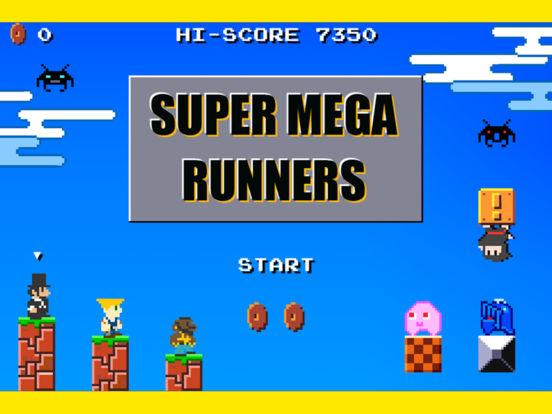 SUPER MEGA RUNNERS на iPad