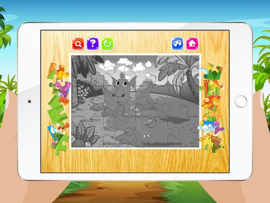 Мультфильм Дракон Пазлы для детей - Детский сад Обучение Игры Бесплатно Скриншоты10