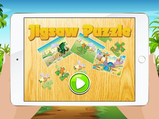 Мультфильм Дракон Пазлы для детей - Детский сад Обучение Игры Бесплатно Скриншоты8