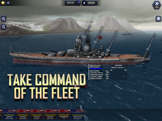 Battle Fleet 2: WW2 Naval Strategy Screenshots