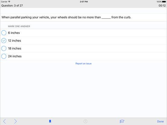 DMV Test Prep - Wisconsin iPad Screenshot 3