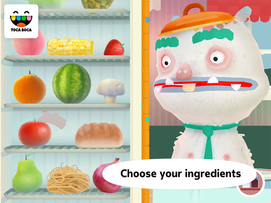 Screenshots of Toca Kitchen 2 for iPad