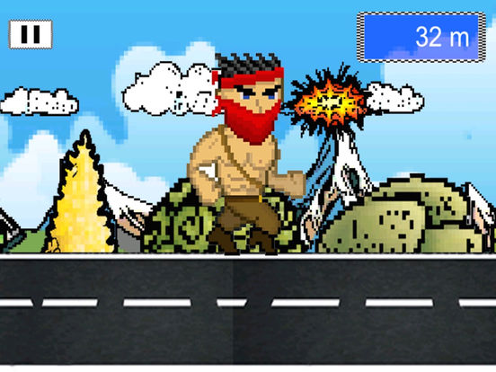 Man Amok Run-ipad-2