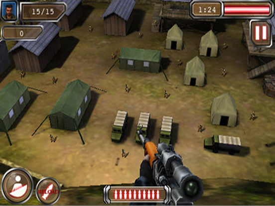 Ace Sniper 2 Lite iPad Screenshot 1