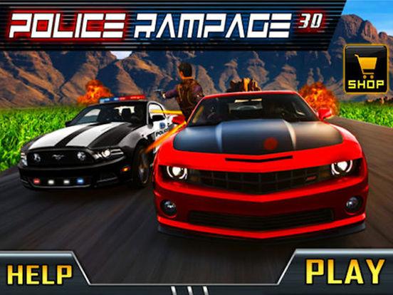 free police shooting games