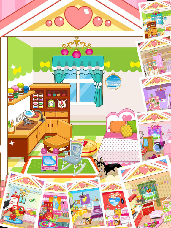 App Shopper Princess Bedroom House Decoration Game For Girls And Kids Games