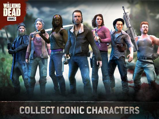 Screenshots of The Walking Dead No Man's Land for iPad