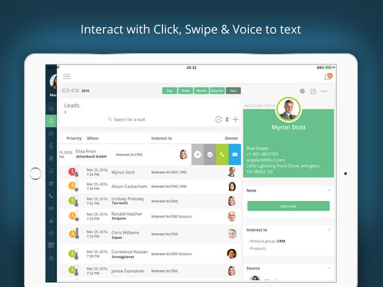 Salesbox CRM - the sales CRM screenshot