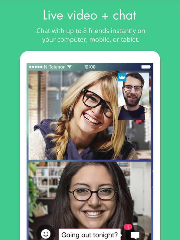 appear.in — free group video chat screenshot