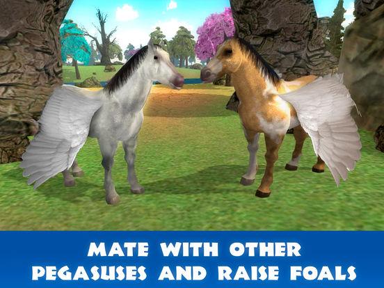 Pegasus Survival Simulator 3D Full screenshot 8
