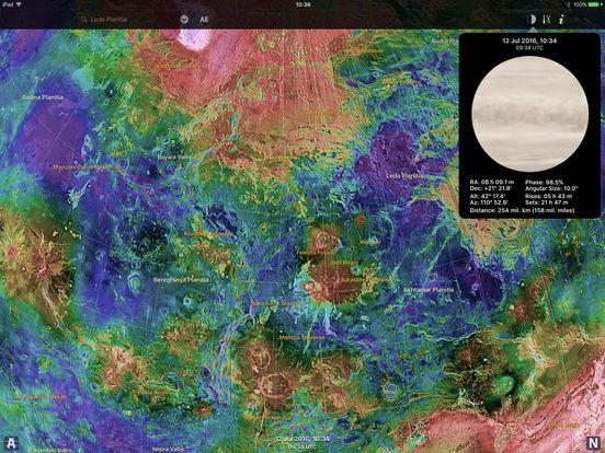 Venus Atlas iPad Screenshot 2