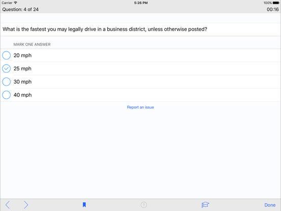 DMV Test Prep - Utah iPad Screenshot 3