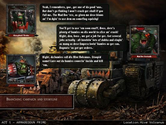Warhammer 40,000: Armageddon - Da Orks Screenshots