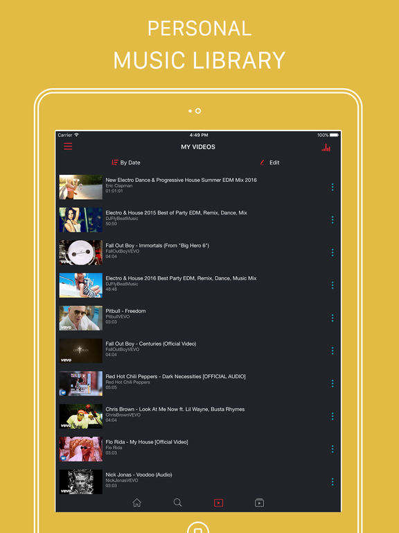 SnapTube Pro - Music Player for Youtube Screenshots