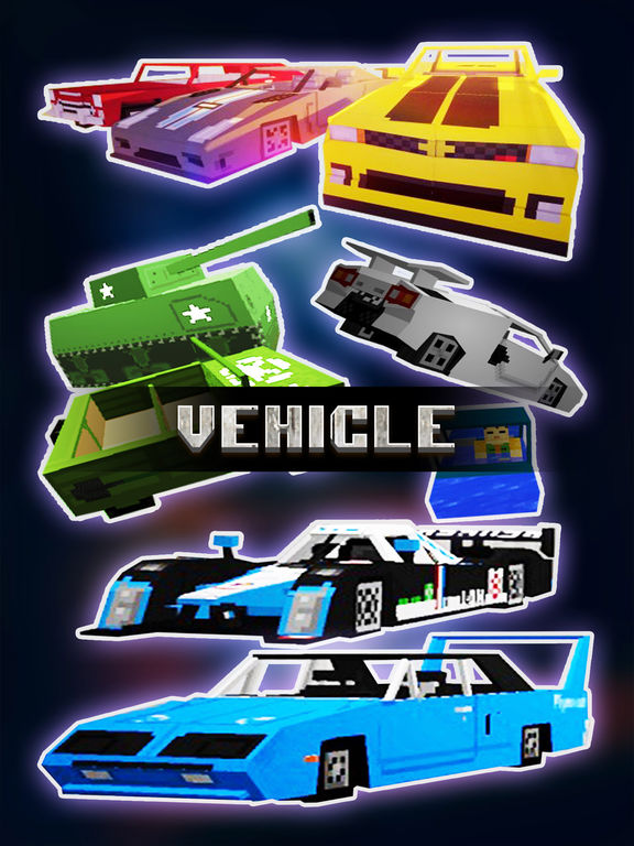 Screenshots of Vehicle & Weapon Mods FREE - Best Pocket Wiki & Tools for Minecraft PC Edition for iPad