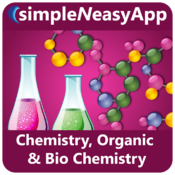 Chemistry, Organic Chemistry and Biochemistry - A simpleNeasyApp by WAGmob