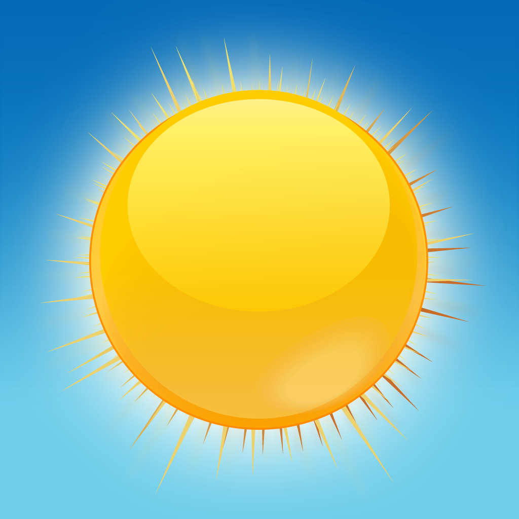 Pin Sunny Weather Symbols Clip Art Vector Online Royalty ...